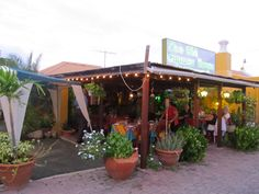 Favorite restaurant in Aruba, Old Cunucu House