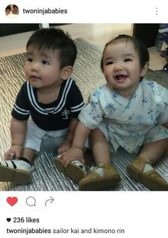 KaiRin...love you both Cutest babies I ever seen