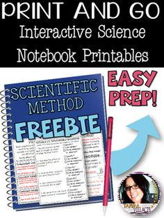 Love the idea of foldables, but sometimes dont have the time for the maintenance part of them? Print and Go Science Printables are what your classroom needs! Designed to be functional and student friendly, Print and Go Science Printables present key science skills to students with visual presentations and real life examples.