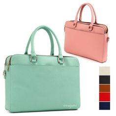 Hit Women Tote Briefcases Laptop Bags Boston Shoulder Handbag Purse Leather in Clothing, Shoes & Accessories, Women's Handbags & Bags, Briefcases & Laptop Bags Laptop Bag For Women, Travel Bags For Women, Travel Clothes Women, Women Bags, Laptop Tote, Leather Laptop Bag, Leather Purses, Pink Laptop, Leather Totes
