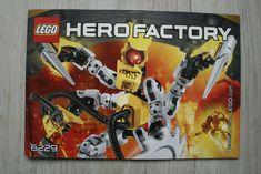 No missing pages or major tears. Lego Instruction Books, Hero Factory, Lego Instructions, Lego Building, Bricks, Ebay, Brick