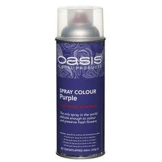 Purple Floral Spray Paint Colour