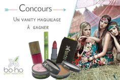 UN VANITY MAQUILLAGE BOHO GREEN À GAGNER chez Mon Vanity Idéal !!  http://www.monvanityideal.com/articles/bon-plan-beaute/vanity-maquillage-boho-green-a-gagner.html
