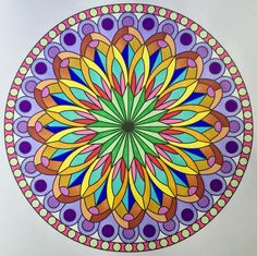 "Kadu Costa no Instagram: ""III VI MMXVI #art #adultcoloringbook #adultcoloring #becreative #colorful #colorfulmandala #coloring #coloringbook #coloringforadults #design #drawing #doodle #livrodecolorir #mandala #mandalaart #mindfulness #yoga #zentangle #zen"""