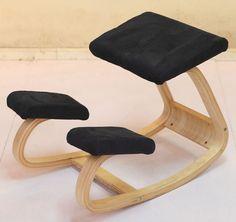 Original Ergonomische Hinknien Stuhl Hocker Hause Büromöbel Ergonomie Schaukel Holz Kniend Computer Haltung Stuhl Design