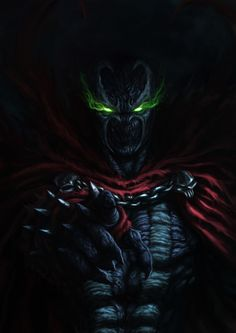 You end up meeting him, the one and only Spawn. Heard about the new movie coming up next year which inspired me to create this artwork. Spawn, Todd Mcfarlane's famous creation, one of my favorite Superhero Wallpaper, Image Comics, Marvel Art, Comic Villains, Marvel Wallpaper, Black Comics, Spawn Comics, Artwork, Spawn