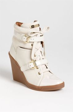 MICHAEL Michael Kors 'Skid' Wedge Sneaker available at #Nordstrom