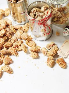 perfect for a quick hostess gift! Ricardo Recipe, Almond Recipes, Sugar And Spice, Food Gifts, Healthy Treats, Christmas Baking, Fall Recipes, I Foods, Food And Drink