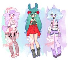 Set 0057[closed] by PastelBits on DeviantArt