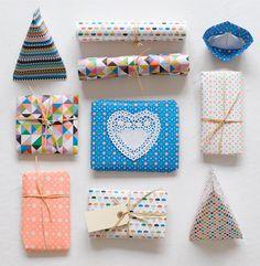 Inspiración para envolver tus regalos de Navidad - PARTE II | Fuxia Atelier