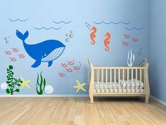 Vinyle Wall Decal Kids chambre sousmarine thème par aimilyshop, $79.00