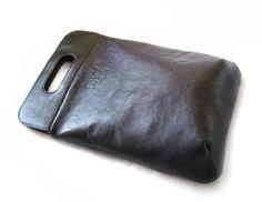Сумка из натуральной кожи от дизайнера Leonid Titow