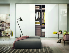 Prima is a sophisticated sleek wardrobe that is avaiabale in a variety of finishes from IQ Furniture.