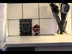 Mario Bros em Stop-Motion.