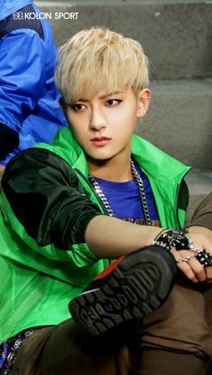 #EXO #Tao always confusing me between kiddish or girly...
