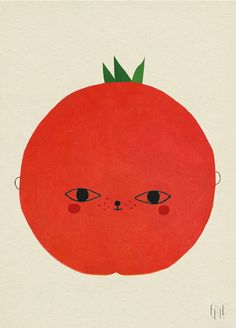 New in Fine Little Day collection! Amazing Tomato poster.