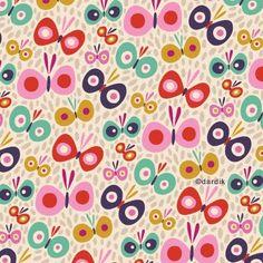 Butterfly pattern by the always wonderful hellen dardik.