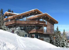 courchevel chalet -