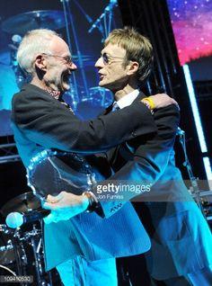 Nachrichtenfoto : Bob Harris and Robin Gibb attend Sound & Vision,...