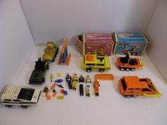Matchbox Mobile Action Command Lot Vintage For Parts Repair Restore #Unbranded