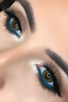 48 hetaste Smokey Eye Makeup Ideas - # make-up ., 48 hetaste Smokey Eye Makeup Ideas - # make-up Perfect Makeup, Gorgeous Makeup, Pretty Makeup, Makeup Looks, Awesome Makeup, Skin Makeup, Eyeshadow Makeup, Eyeliner, Applying Eyeshadow