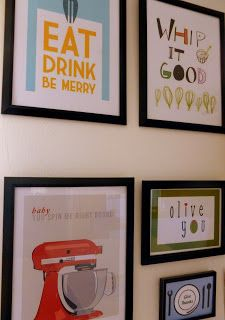 Kitchen Gallery Wall Art Home Projects Burlap Wreath