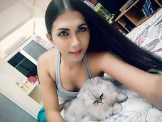 Ranya with tiger