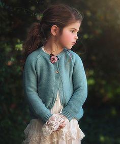 Another great find on #zulily! Cornflower Hattie Cardigan - Toddler & Girls #zulilyfinds