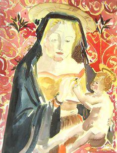 Jean-Xavier RENAUD Vierges à l'enfant 3, 2006