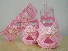 Besten Entwürfe für Stricken Babyschuhe | Crochetz.com