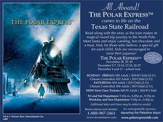 Texas State Railroad Polar Express, Palestine, Texas