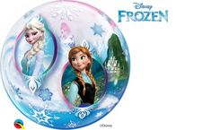 Delivered fully inflated & boxed, to your door. Perfect for children's birthday parties. Frozen Balloons, Bubble Balloons, Latex Balloons, Bubbles, Frozen Disney, The Balloon, Trendy Colors, Snow Globes, Birthday Parties