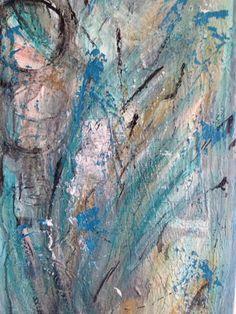 ORIGINAL BILD Acryl abstrackt Malerei Kunst Wandbild Leinwand