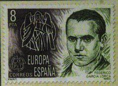 Sellos - Europa - España-Federico Garcia Lorca