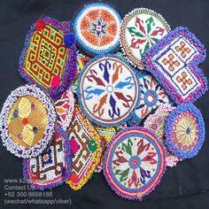 tribal beaded medals Medallones tribales rebordeados Medallones kuchi tribal fusion medallions