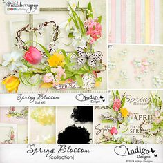 Spring is in full bloom in this lovely new collection by Indigo Designs. SAVE 30%