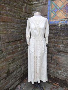 Vintage original edwardian dress 1900's tea by romanticcountry, $299.99