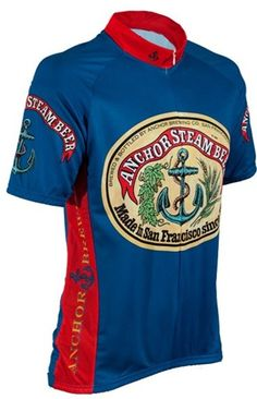 5350105ee Anchor Steam Beer Cycling Jersey