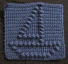 Sailboat Bobble Chart pattern by Kari Philpott ~ free pattern
