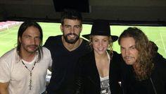 """LAS CADERAS TABASCO: Foto: Shakira, Grerard y el grupo Maná  en el  """"Ca..."""
