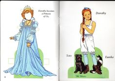 Vintage Uncut Dorothy Wizard of oz Frank Baum Book 1925 1939 Films Paper Doll Dorothy Wizard Of Oz, Original Wizard Of Oz, Oz Series, Film Paper, Media Images, Book Activities, Doll Toys, Paper Dolls, Ficus