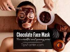 skin toning mask 1 tsp. green tea 1 tsp. cocoa powder 1 tsp. hot water 10-15 dr. olive (sesame) oil