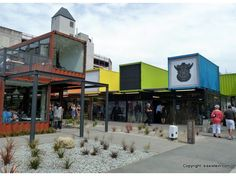 Christchurch, NZ Shopping Mall