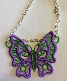 www.terradonembroidery.com. FSL Butterfly