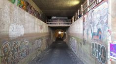 Uittotunneli ~ A tunnel from lake to lake