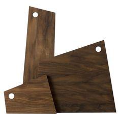 Asymmetric Ferm Living Cutting board - 18 x 22 cm - Image 2
