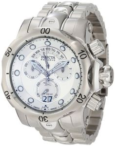 Invicta Men's 1537 Reserve Venom Chronograph Silver Dial Stainless Steel Watch Invicta,http://www.amazon.com/dp/B0070L90TO/ref=cm_sw_r_pi_dp_uXIusb09W5SH31ZF
