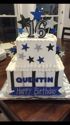 16Th Birthday Cake For Boy Picture Birthday Cake Pinterest Boy