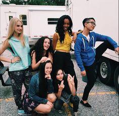 Cast of Backstage
