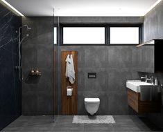 Diy Bathroom Decor, Bathroom Renos, Grey Bathrooms, Bathroom Styling, Small Bathroom, Bathroom Design Luxury, Home Interior Design, Shower Remodel, Bathroom Inspiration